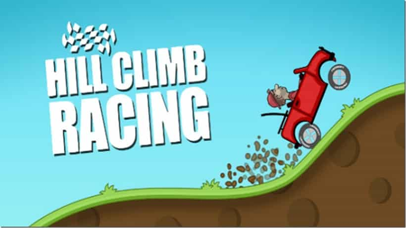 Das Gratisspiel Hill Climb Racing geht richtig ab