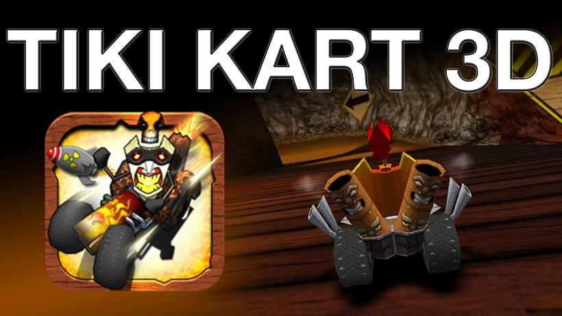 Tiki Kart 3D erinnert an Mario Kart
