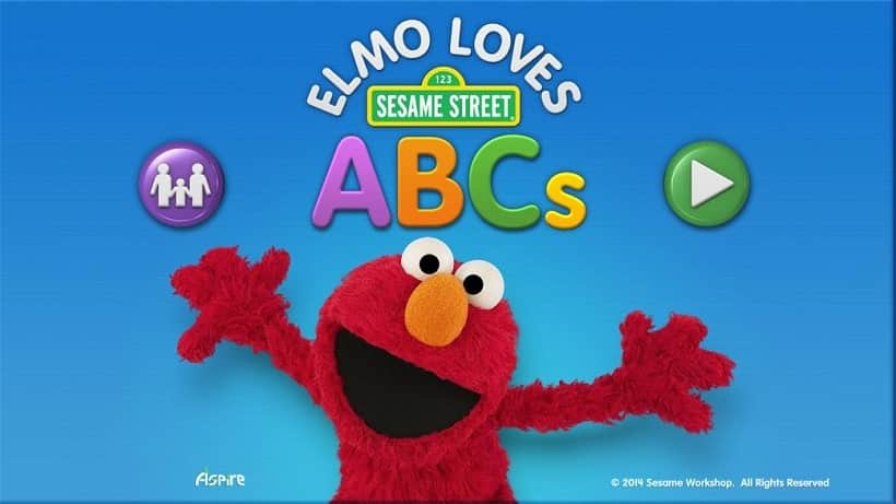 Elmo Loves ABCs Lite – für Kids ab 3