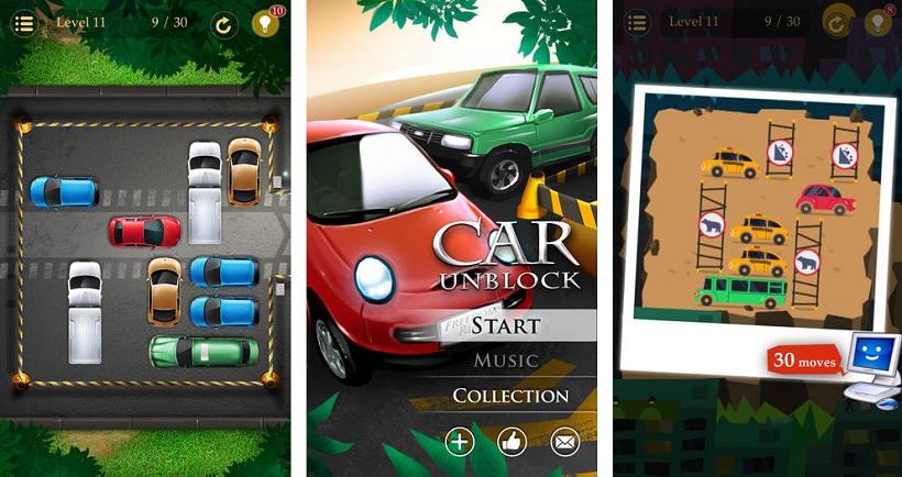 Auto Ausparken Spiel