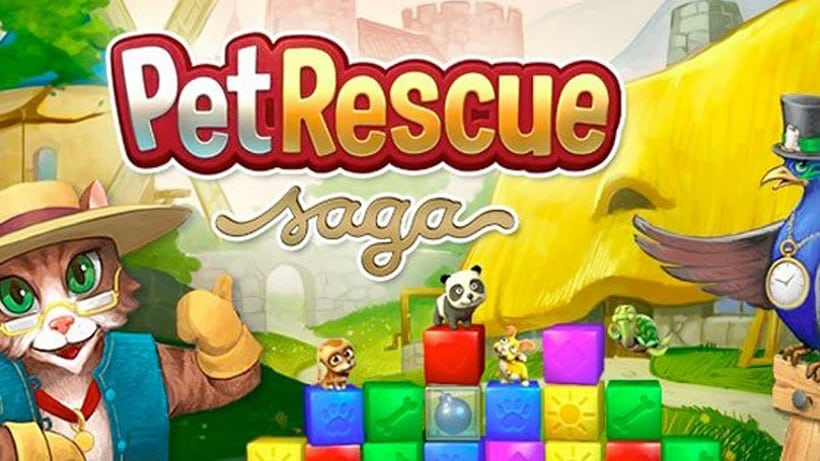 Pet Rescue Saga hat jetzt rund 3.800 Levels!