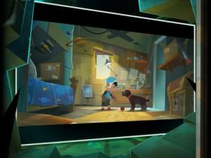 Dieses Spiel erinnert stark an Pixar-Filme