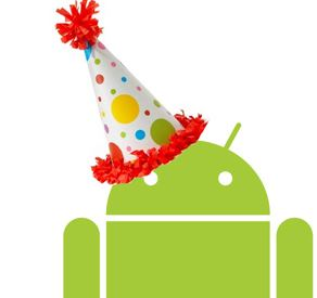 Happy Birthday, Google Play