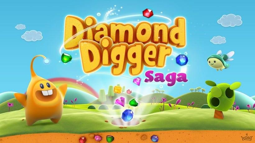 Diamond Digger Saga hat neue Levels erhalten