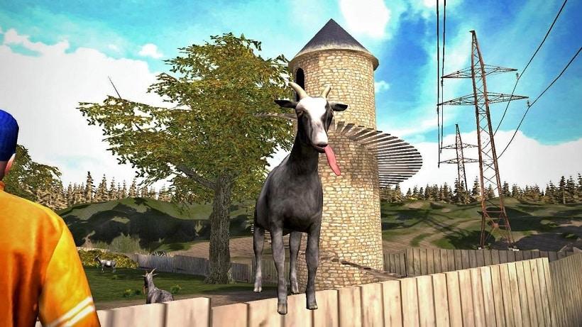 Goat Simulator Multiplayer – ein tierischer Spaß