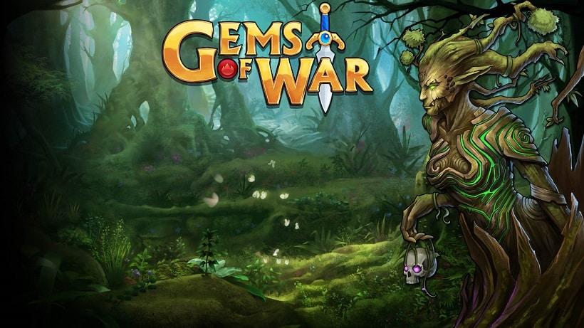 Gems of War hat eine neue Weltkarte erhalten