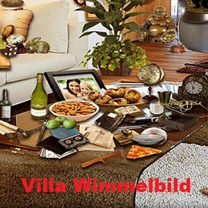 Villa Wimmelbild