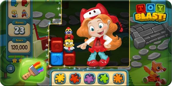 Toy Blast 2 : Toy blast ist ein neues puzzle spiel das knallbunt gut