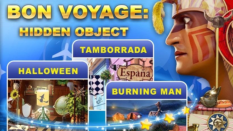 Spielt hier das Wimmelbildspiel Bon Voyage kostenlos