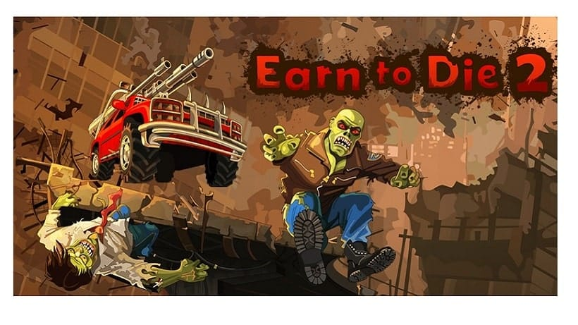 Rast in Earn to Die 2 durch Zombie-Horden