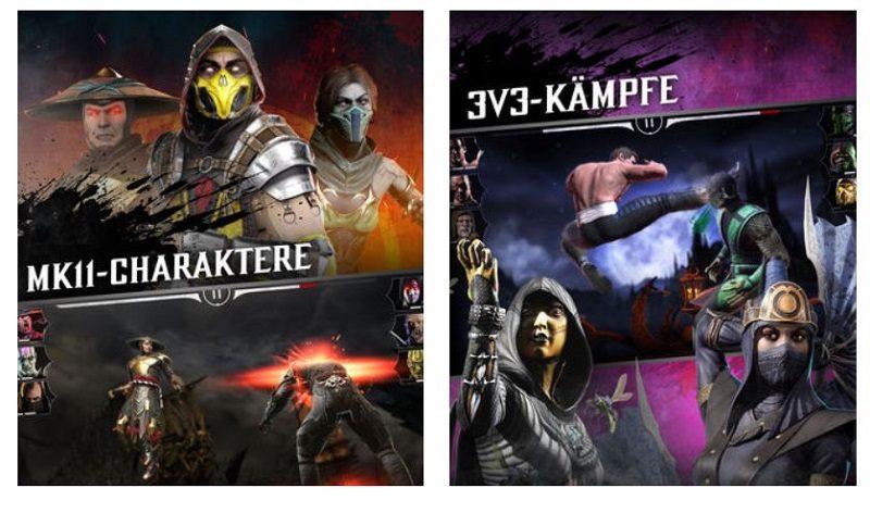 Kostenlose Spiele-Apps - das sind Bilder zum Spiel Mortal Kombat