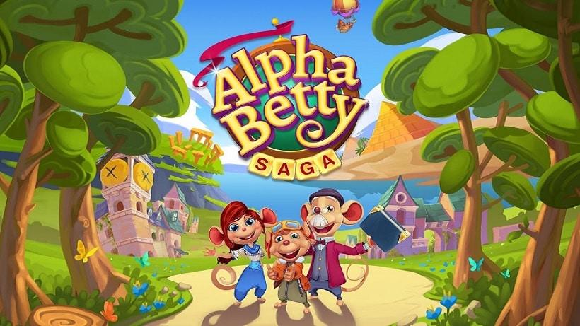 AlphaBetty Saga ist das beste King-Wortspiel!