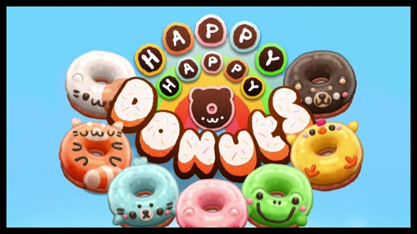 Happy Happy Donuts