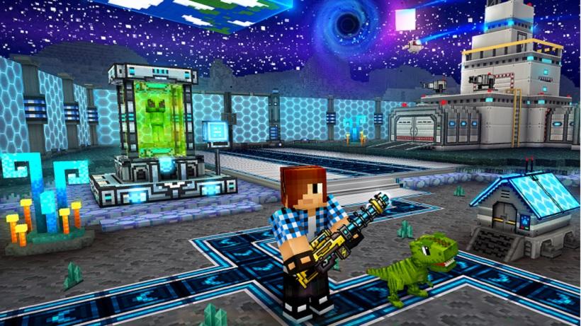 Pixel Gun 3D ist ein schräger First-Person-Shooter