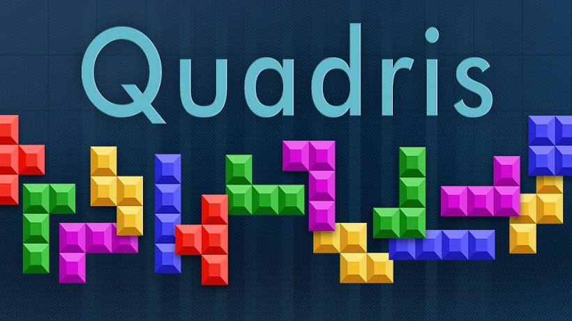 Quadris ist ein toller Tetris-Klon mit coolem Gameplay