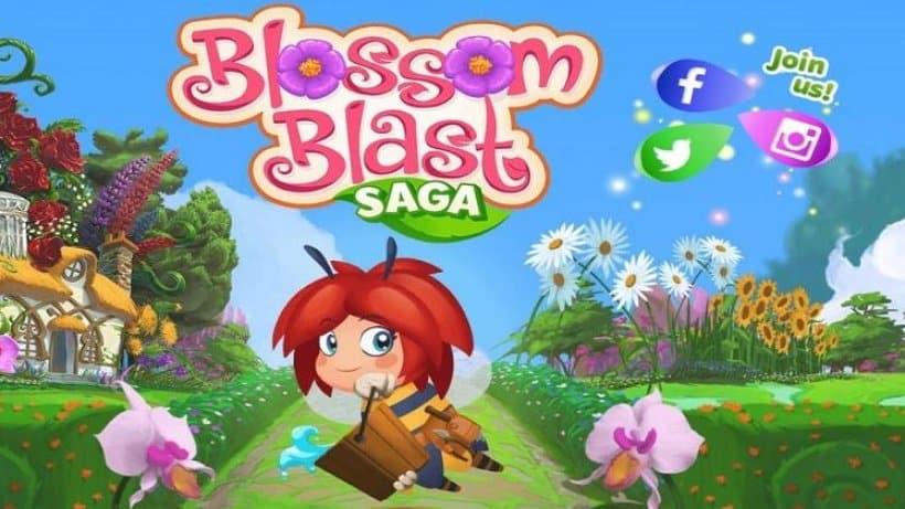 Das Spiel Blossom Blast Saga hat 20 neue Levels