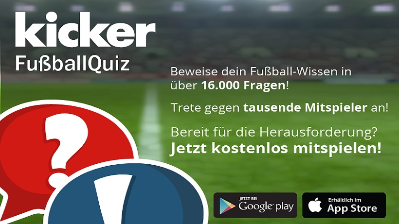 Kicker Fussballquiz