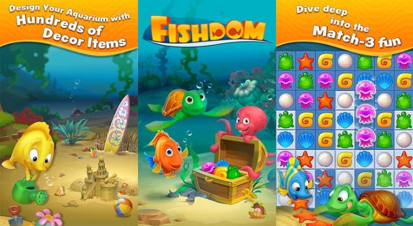 Fishdom bietet euch aktuell ein  Feuerwerksfestival-Event