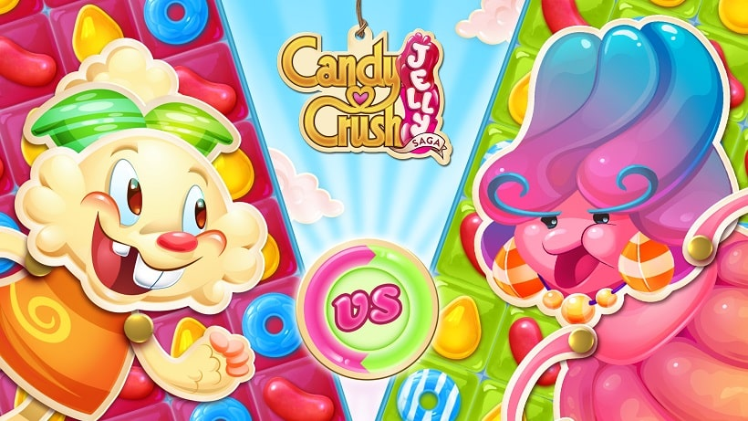 Candy Crush Jelly Saga hat aktuell 3000 Levels