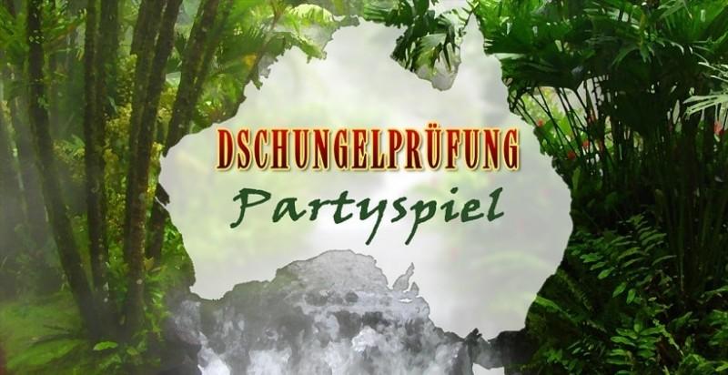 Dschungelprüfung Partyspiel