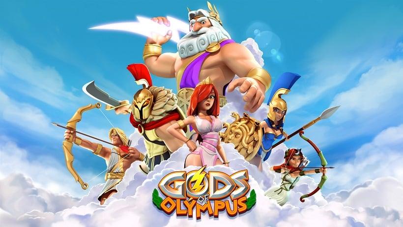 Poseidon mischt jetzt bei Götter des Olymp mit