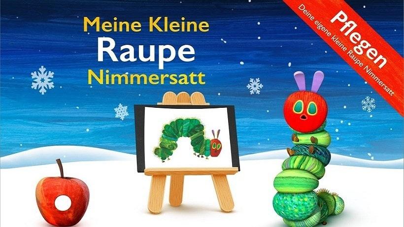 Meine kleine Raupe Nimmersatt ist ideal für Vorschulkinder
