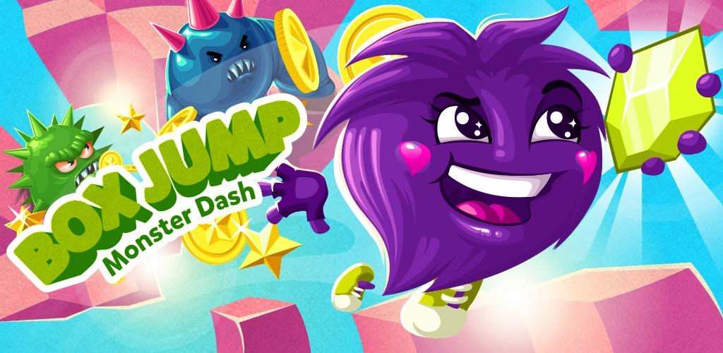 Box Jump Monster Dash