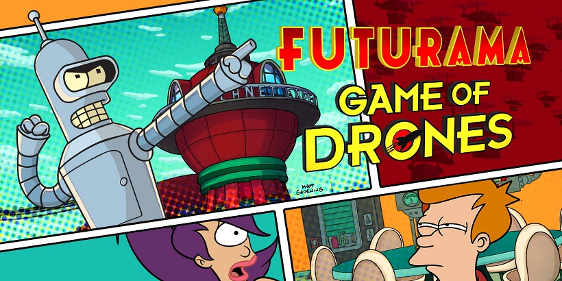 Futurama Game of Drones kostenlos spielen