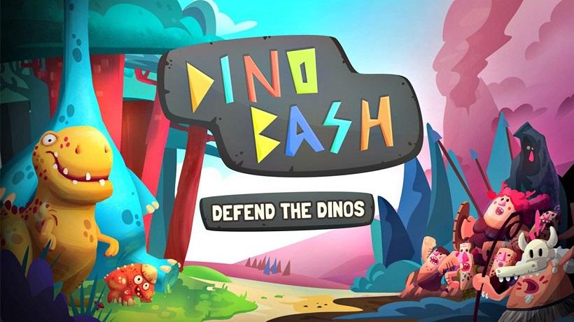 Rettet in Dino Bash die Dinos