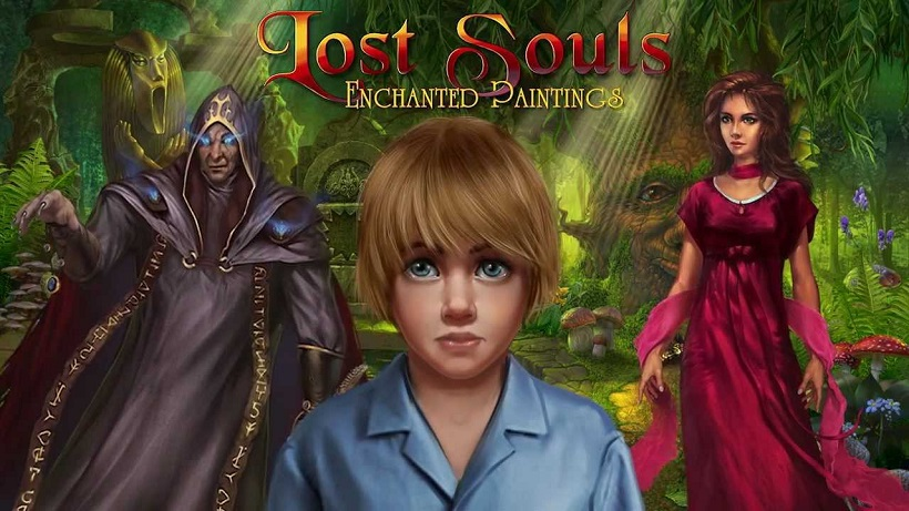Ein Rätsel-Grusical: Lost Souls Enchanted Painting