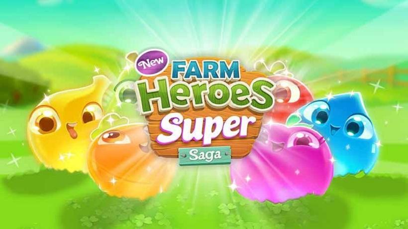 So spielt ihr das Spiel Farm Heroes Super Saga