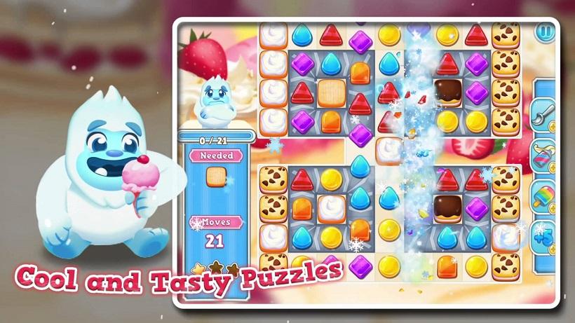 Frozen Frenzy Mania hat jetzt über 800 Levels