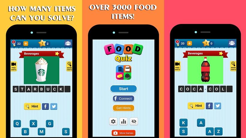 Food Quiz kostenlos