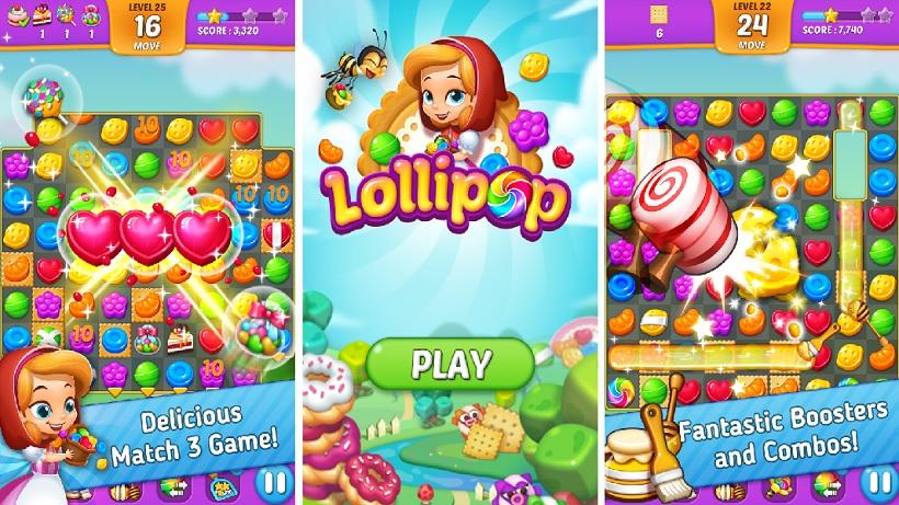 Tipps zu Lollipop Sweet Taste Match 3