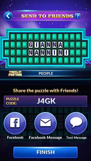 Wheel of Fortune Free Play Game Show Word Puzzles