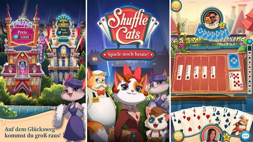 Shuffle Cats wurde leider aus den Stores entfernt