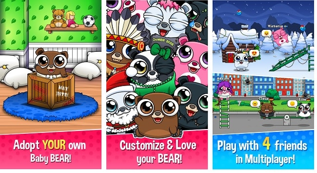 Happy Bear Virtual Pet Game