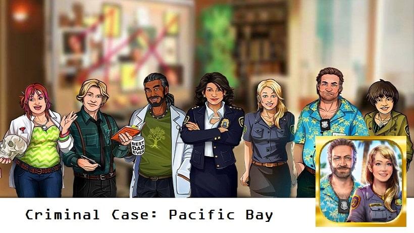 Löst Mordfälle in Criminal Case: Pacific Bay