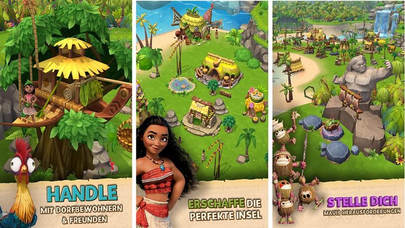 Vaiana Inselleben Heißt Disneys Simulation Die Auf Dem Film Basiert