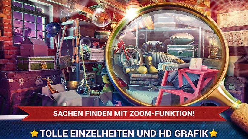 Sucht 2000 Sachen in Hidden Object House Cleaning!