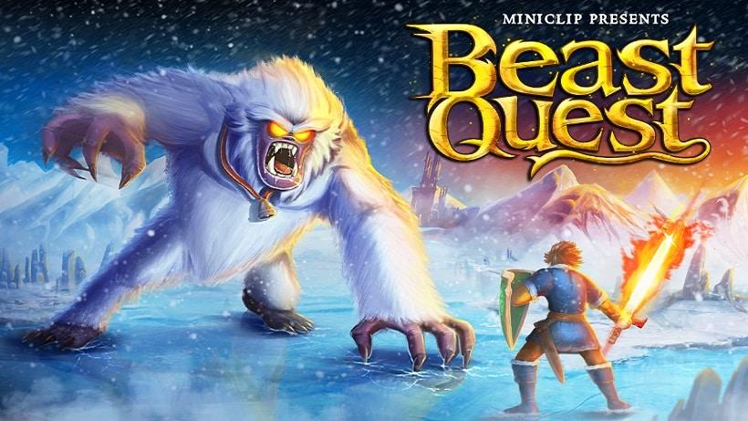 Beast Quest basiert auf einem Kinderbuch