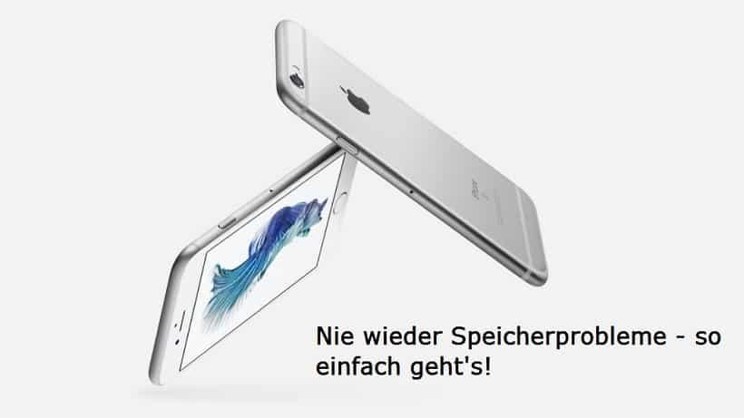iPhone Speicher erweitern