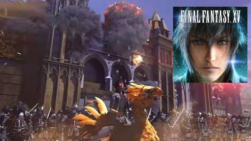 Final Fantasy 15 A New Empire ist ein Spin-Off
