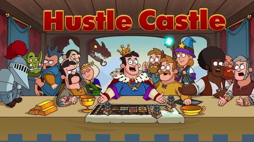 Hustle Castle Fantasy Schloss ist ein irrwitziger Spaß