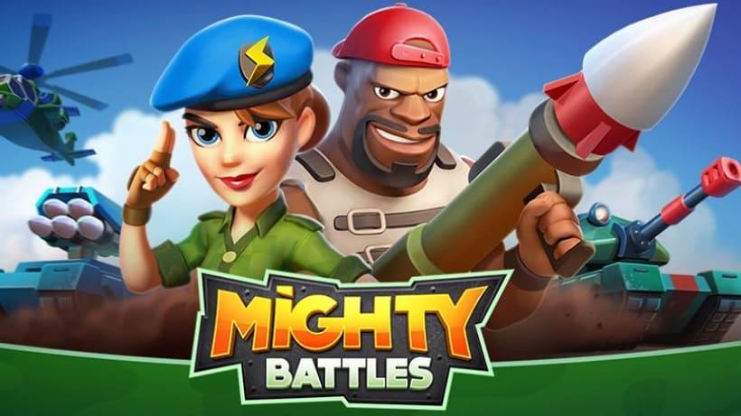 Jetzt mit neuen Karten: Mighty Battles
