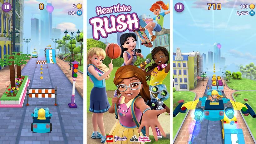 LEGO Friends: Heartlake Rush - rast durch LEGO-City