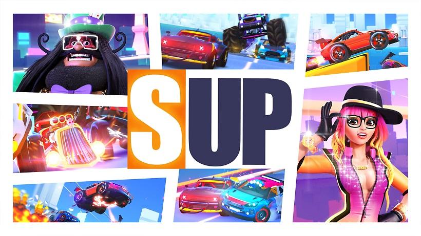 SUP ist ein geiles Mehrspieler-Rennspiel!