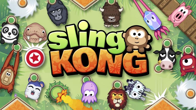 Sling Kong bietet euch affigen Spaß