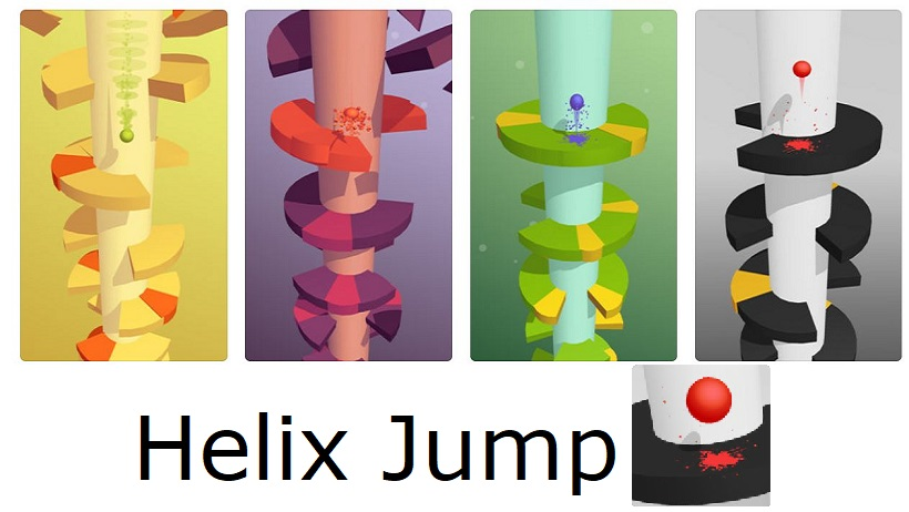 Das Suchtspiel Helix Jump wurde verbessert!
