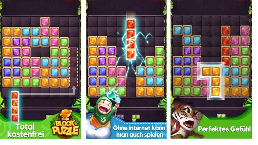 Block Puzzle Jewel ist ein toller Tetris-Klon